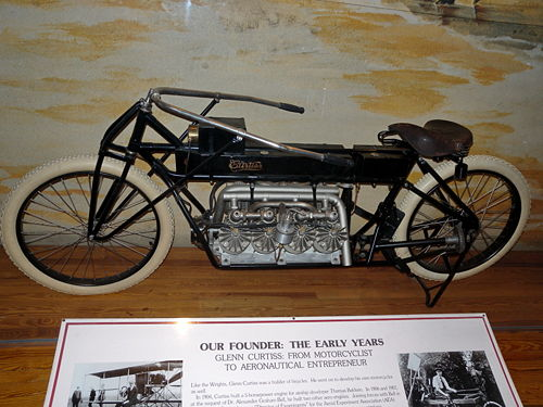 1907 Curtiss V-8 Motorcycle